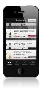 Wine in Black – Weinbestellung ab sofort über eigenes Iphone-App