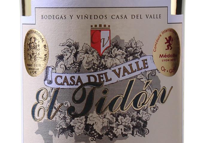 Casa del Valle – El Tidón Sauvignon Blanc - VdT Castilla 2014