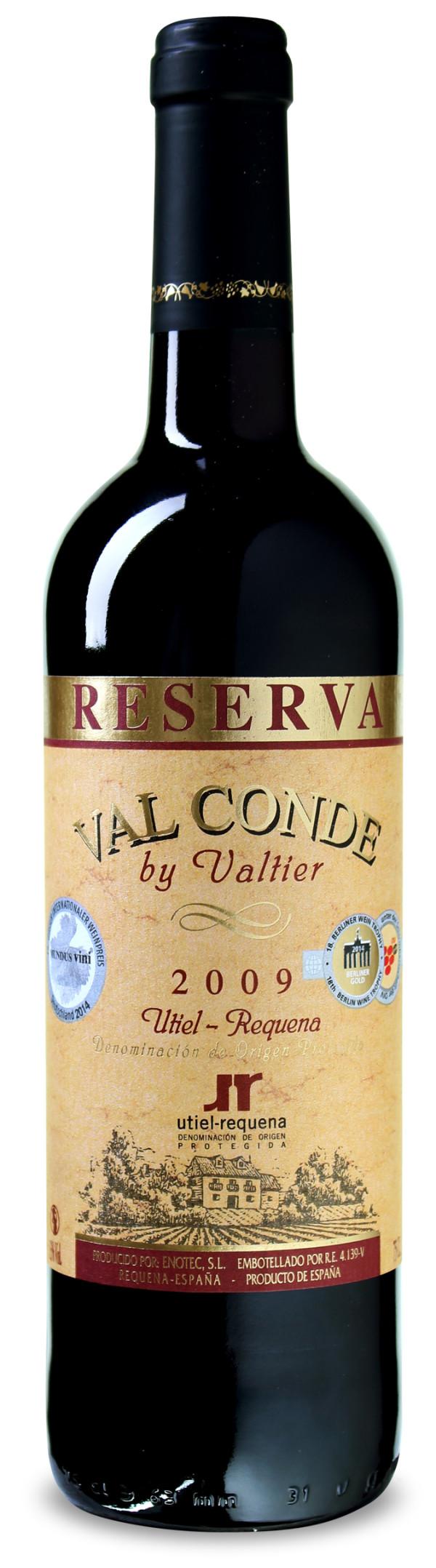 Gold-pämiert: Val Conde by Valtier – Utiel-Requena DO Reserva 2010 nur 3,75 € statt 9,99 €
