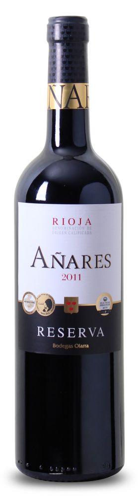 9-fach ausgezeichnet: Bodegas Olarra – Añares – Reserva Rioja DOCa 2011 nur 6,49 € statt 12,99 €