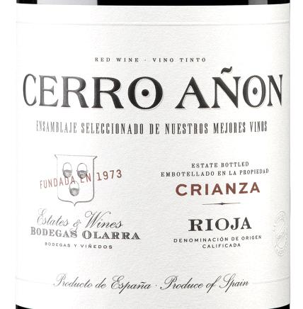 5-fach prämiert: Cerro Añon – Crianza – Rioja DOCa 2015 nur 5,99 € statt 11,99 €