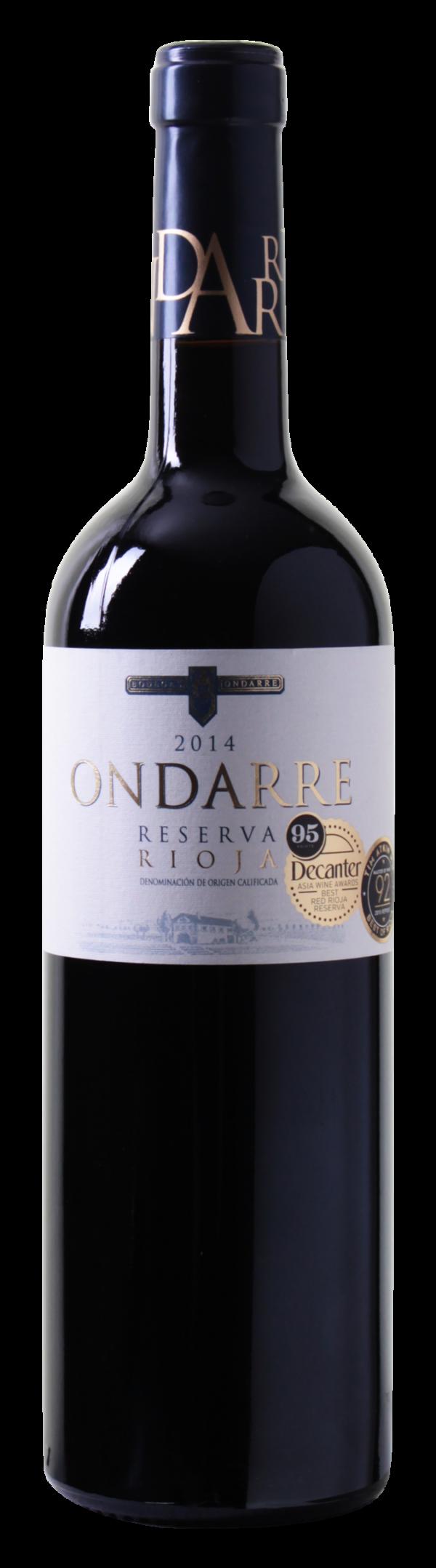 2 x 95 Punkte: Ondarre – Reserva – Rioja DOCa 2014 nur 6,49 € statt 12,99 €