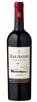 Gold-prämiert: Mas Andes Reserva Carmenère 2017 nur 3,95 € statt 7,95 €
