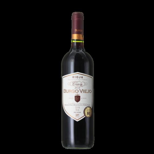 4-fach prämiert: Bodegas Burgo Viejo – Rioja – Crianza 2013 nur 6,61 € statt 9,99 €
