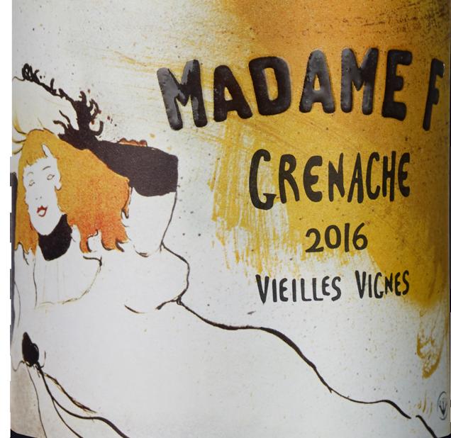 Madame F - Grenache Vieilles Vignes - Côtes Catalanes IGP 2016