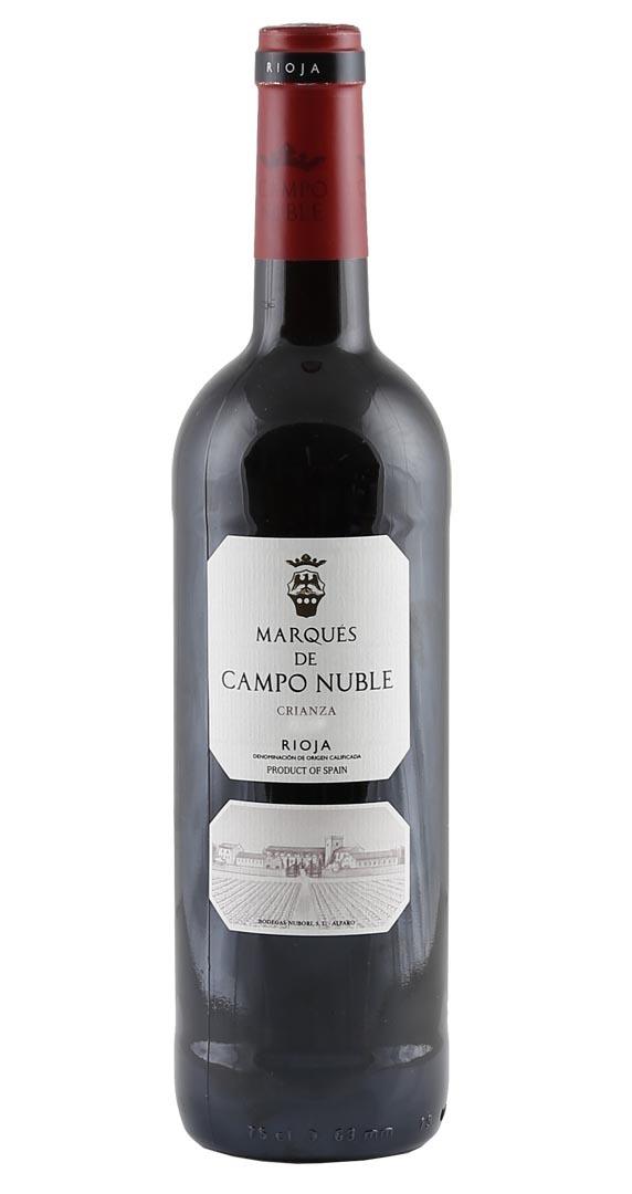 90 Punkte: Marqués de Campo Nuble Crianza 2015 nur 5,85 € statt 11,50 €