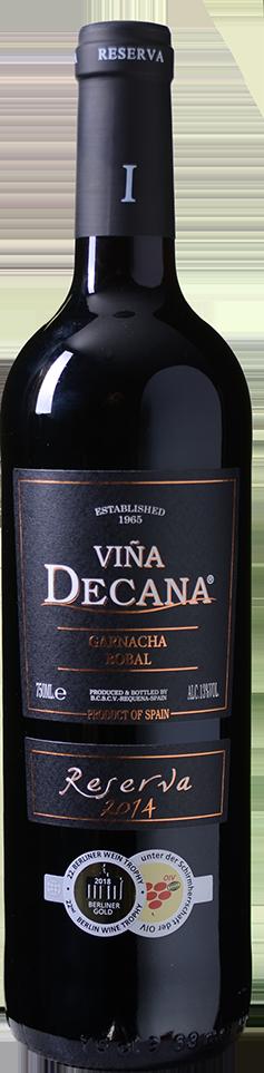 Gold-prämiert: Viña Decana – Garnacha-Bobal Reserva – Utiel-Requena DO 2014 nur 3,33 € statt 9,99 €