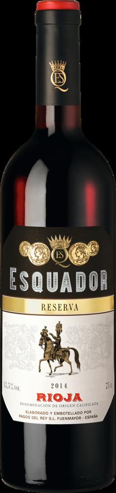 2-fach Gold: Esquador Rioja Reserva 2014 ab 8,45 € statt 14,90 €