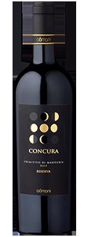 98 Punkte + Großes Gold: A6mani CONCURA Primitivo di Manduria Riserva DOP 2015 nur 19,95 €