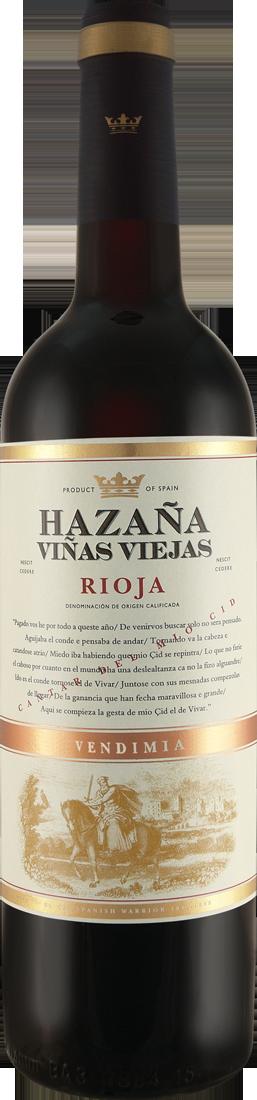 92 Parker Punkte: Bodegas Abanico Hazaña Viñas Viejas Rioja D.O.C. 2014 nur 7,95 €