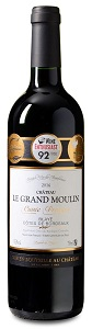 11-fach prämiert: Château le Grand Moulin – Cuvée Préstige – Blaye Côtes de Bordeaux AC 2016 nur 6,99 € statt 13,99 €