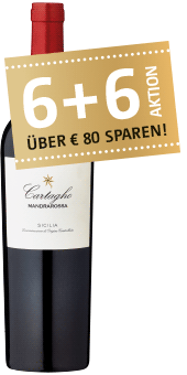 Top Value: Mandrarossa »Cartagho« Rosso Sicilia DOC 2016 nur 6,98 € statt 13,95 €