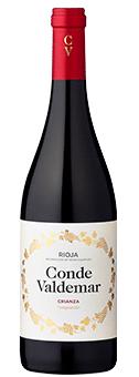 91 Punkte + Gold: Conde Valdemar Crianza Rioja DOCa 2015 nur 7,50 €