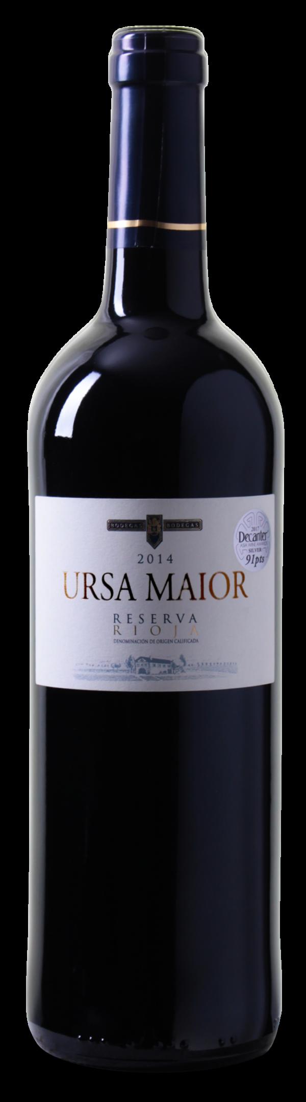 91 Decanter Punkte: Ursa Maior – Reserva – Rioja DOCa 2014 nur 5,99 € statt 11,99 €