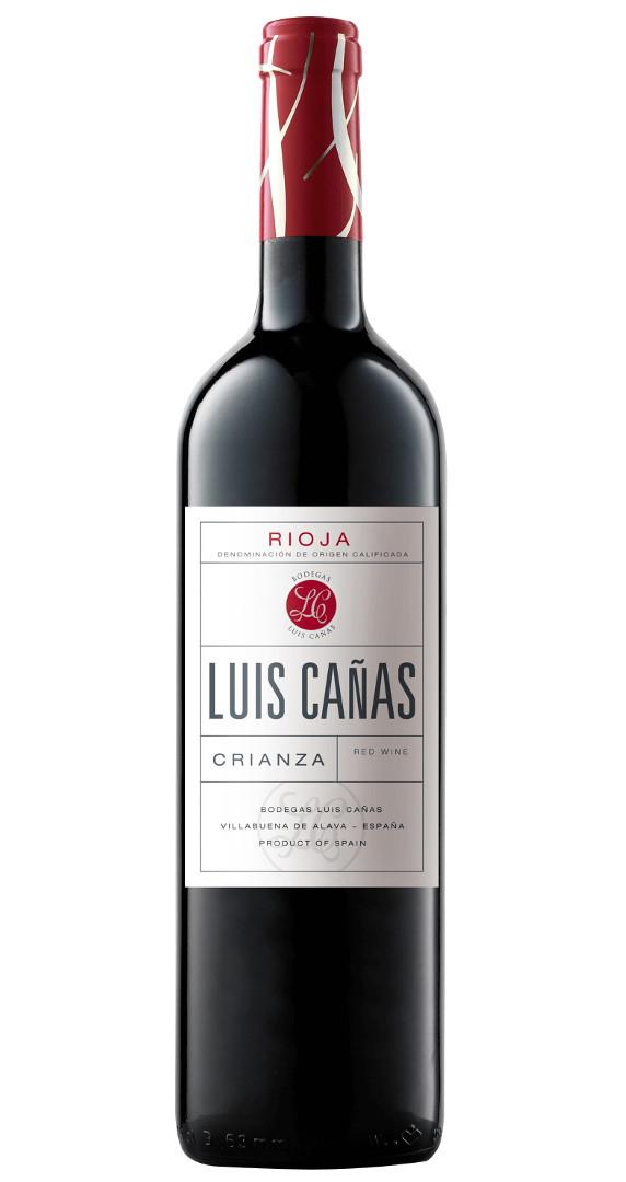 5-fach prämiert: Luis Cañas Crianza 2015 nur 8,91 € statt 11,90 €
