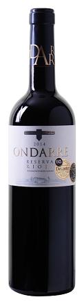 Ondarre - Reserva - Rioja DOCa 2014
