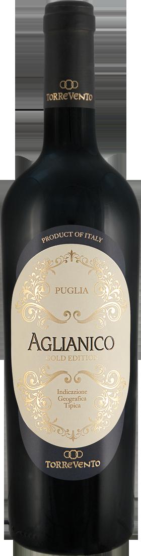 91 Punkte + Gold: Torrevento Aglianico Gold Edition Puglia IGT 2018 nur 6,99 € statt 13,79 €